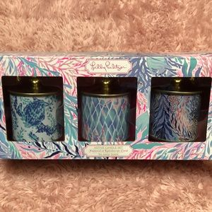 LILLY PULITZER Candle Set